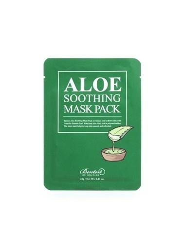 Benton Aloe Soothing Mask Pack - Aloe Yatıştırıcı Kağıt Maske Renksiz